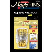 Magic Pins 100 Applique Pins In Designer Case by Taylor Seville Appique Pins - OzQuilts
