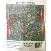 Jeu de boules By Willyne Hammerstein of Millefiori Quilts Complete Paper Piecing Pack by Paper Pieces - Paper Pieces Kits & Templates