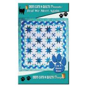 Teal We Meet Again Quilt Pattern by Deb Heatherly by Deb's Cats N Quilts Designs - Quilt Patterns