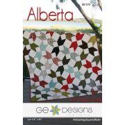 Alberta Quilt Pattern by Gudrun Erla by GE Designs - Quilt Patterns