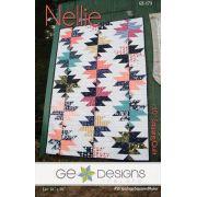 Nellie Quilt Pattern by Gudrun Erla by GE Designs Quilt Patterns - OzQuilts