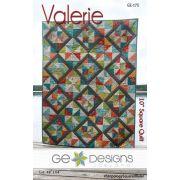 Valerie Quilt Pattern by Gudrun Erla by GE Designs - Quilt Patterns