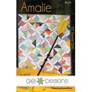 Amalie Quilt Pattern by Gudrun Erla by GE Designs - Quilt Patterns