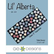 Lil Alberta Table Runner Pattern by Gudrun Erla by GE Designs Quilt Patterns - OzQuilts