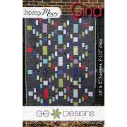 Gina Quilt Pattern by Gudrun Erla by GE Designs - Quilt Patterns