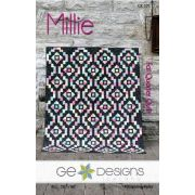Millie Quilt Pattern by Gudrun Erla by GE Designs - Quilt Patterns