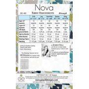 Nova Quilt Pattern by Gudrun Erla by GE Designs - Quilt Patterns