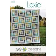 Lexie Quilt Pattern by Gudrun Erla by GE Designs Quilt Patterns - OzQuilts