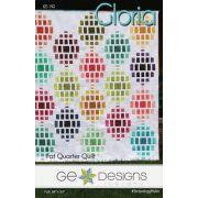 Gloria Quilt Pattern by Gudrun Erla by GE Designs - Quilt Patterns