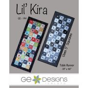 Lil Kira Table Runner Pattern, by Gudrun Erla by GE Designs Quilt Patterns - OzQuilts