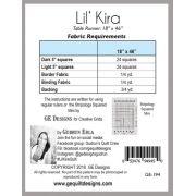 Lil Kira Table Runner Pattern, by Gudrun Erla by GE Designs - Quilt Patterns