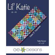 Lil Katie Table Runner Pattern, by Gudrun Erla by GE Designs - Quilt Patterns