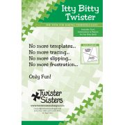 """Itty Bitty Twister Pinwheel for 2½"""" Squares by Country Schoolhouse - Twister"""