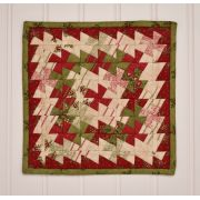 """Itty Bitty Twister Pinwheel for 2.5"""" Squares by Country Schoolhouse Twister - OzQuilts"""