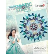 """Prismatic Star Queen Size 91"""" x 91"""" Quilt Pattern & Papers by Judy Niemeyer by Quiltworx Judy Niemeyer Quiltworx - OzQuilts"""
