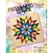 """Prismatic Star 68"""" x 68"""" Quilt Pattern & Papers by Judy Niemeyer by Quiltworx Judy Niemeyer Quiltworx - OzQuilts"""