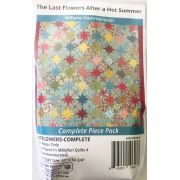 Last Flowers After A Hot Summer By Willyne Hammerstein of Millefiori Quilts Complete Paper Piecing Pack by Paper Pieces Paper Pieces Kits & Templates - OzQuilts