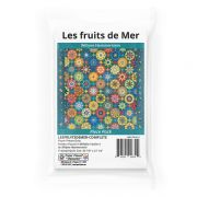 Les fruits de Mer By Willyne Hammerstein of Millefiori Quilts 4 Complete Paper Piecing Pack by Paper Pieces Millefiori Book 4 & Templates - OzQuilts