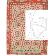 Dancing Cheek to Cheek Halo Patchwork Template Set from Millefiori Quilts 4 by Willyne Hammerstein by OzQuilts Millefiori Book 4 & Templates - OzQuilts