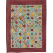 The Last Flowers After a Hot Summer Halo Patchwork Template Set from Millefiori Quilts 4 by Willyne Hammerstein by OzQuilts Millefiori Book 4 & Templates - OzQuilts