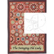 The Swinging Old Lady Halo Patchwork Template Set from Millefiori Quilts 4 by Willyne Hammerstein by OzQuilts - Millefiori Book 4 & Templates