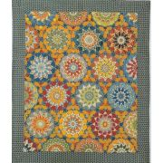 You Are My Sunshine Halo Patchwork Template Set from Millefiori Quilts 4 by Willyne Hammerstein by OzQuilts - Millefiori Book 4 & Templates