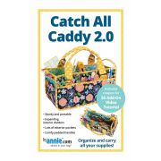 Catch All Caddy Bag 2.0 Pattern by Annie Unrein by ByAnnie - Bag Patterns