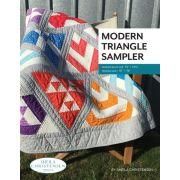 Modern Triangle Sampler, by Sheila Christensen by Sheila Christensen Quilts - Quilt Patterns