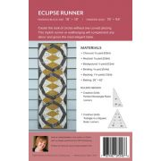 Eclipse Runner Pattern uses Creative Grids Perfect Rectangle & Triangle in a Square rulers by Sheila Christensen Quilts - Quilt Patterns