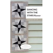 Dancing With The Stars Runner Pattern Uses the Creative Grids Perfect Rectangle ruler by Sheila Christensen Quilts - Quilt Patterns