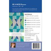 Be a Mod Runner Quilt Pattern by Sheila Christensen by Sheila Christensen Quilts - Quilt Patterns