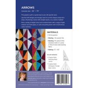 Arrows Quilt Pattern Uses Creative Grids Half Sixty & 60 Degree Triangle Rulers by Sheila Christensen Quilts - Quilt Patterns
