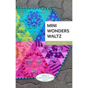 Mini Wonders Waltz Quilt Pattern for the Creative Grids Mini DIamond Ruler by Sheila Christensen Quilts - Quilt Patterns