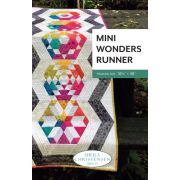 Mini Wonders Runner Quilt Pattern for the Creative Grids Mini DIamond Ruler by Sheila Christensen Quilts - Quilt Patterns