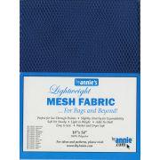 """ByAnnie Lightweight Mesh 18"""" x 54"""" Blastoff Blue by ByAnnie - Lightweight Mesh"""