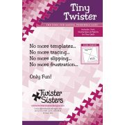 """Tiny Twister Pinwheel for 3½"""" Squares by Country Schoolhouse - Twister"""