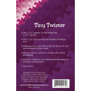 """Tiny Twister Pinwheel for 3.5"""" Squares by Country Schoolhouse Twister - OzQuilts"""