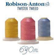 Robison-Anton Twister Tweeds Embroidery Thread 630 metres by Robison-Anton Thread - Robison Anton Embroidery Thread