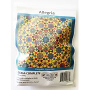 Allegria By Willyne Hammerstein of Millefiori Quilts Complete Paper Piecing Pack by Paper Pieces Paper Pieces Kits & Templates - OzQuilts