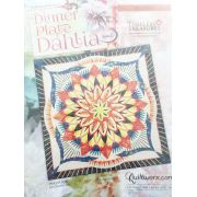 Dinner Plate Dahlia Pattern & Foundation Papers by Quiltworx - Wall Size by Quiltworx - Judy Niemeyer Quiltworx