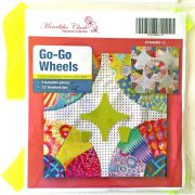 "Go Go Wheels 12"" Patchwork Template Set by Meredithe Clark Designer Collection Meredithe Clark Designer Collection - OzQuilts"