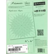 """Prismatic Star Queen Size 91"""" x 91"""" Replacement Papers by Quiltworx Judy Niemeyer Quiltworx - OzQuilts"""
