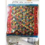 Joie de Vivre By Willyne Hammerstein of Millefiori Quilts Complete Paper Piecing Pack by Paper Pieces Paper Pieces Kits & Templates - OzQuilts