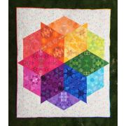 Reflections Quilt Along Complete Months 1-12 Paper Piece Pack by Paper Pieces Paper Pieces Kits & Templates - OzQuilts