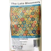 Late Bloomers By Willyne Hammerstein of Millefiori Quilts Complete Paper Piecing Pack by Paper Pieces - Paper Pieces Kits & Templates