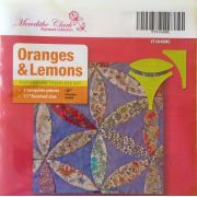 Oranges & Lemons Patchwork Template Set by Meredithe Clark Designer Collection Meredithe Clark Designer Collection - OzQuilts