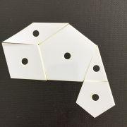 La Passacaglia Mylar Pack - 1 ½ times Original SIze - 739 pieces by OzQuilts - Millefiori Book 1