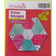 Prism Hexagon Patchwork Template Set by Meredithe Clark Designer Collection Meredithe Clark Designer Collection - OzQuilts
