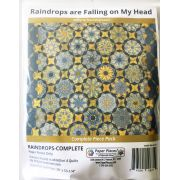 Raindrops are Falling on my Head By Willyne Hammerstein of Millefiori Quilts Complete Paper Piecing Pack by Paper Pieces - Paper Pieces Kits & Templates