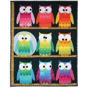 Hootsville Row Quilt Pattern by Sassafras Lane Designs - Quilt Patterns